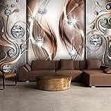 murando - Fototapete 350x256 cm - Vlies Tapete - Moderne Wanddeko - Design Tapete - Wandtapete - Wand Dekoration - Abstrakt Diamant a-A-0153-a-c