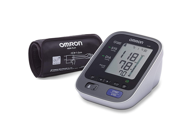 OMRON M500 - Tensiómetro de brazo eléctrico, color gris [Importado ...
