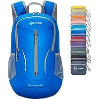 ZOMAKE Ultra Lightweight Packable Rucksack, 25L Klein Wasserfest Wandern Daypack Faltbarer Reiserucksack für Männer Frauen im Freien