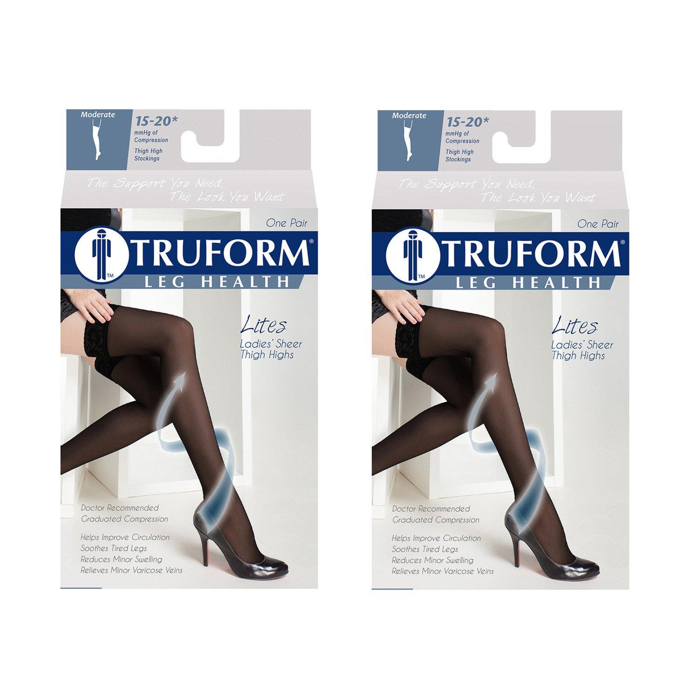 Truform Lites Thigh High, XL,  Beige