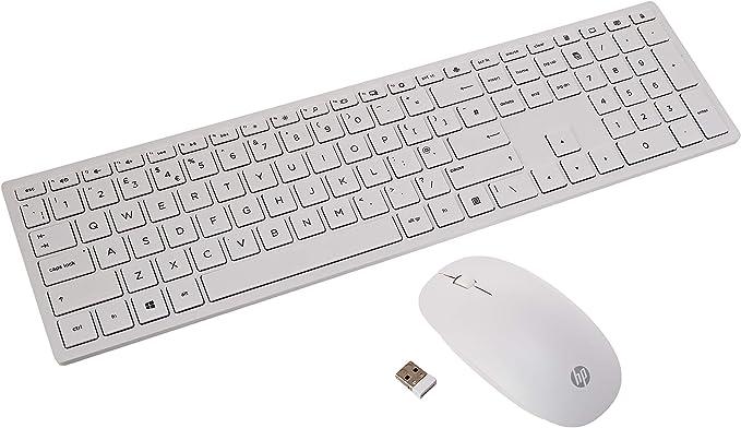 HP Pavilion 800 - Pack con teclado y ratón inalámbricos ...