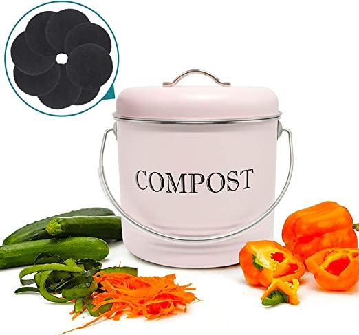 Amazon.com: Contenedor de compost Reliancer con 8 filtros de ...