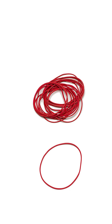 elastici rotondi Rondella Scatola 50 g 40 mm /Ø L/äufer