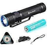 OLIGHT(オーライト) S30R Baton III 懐中電灯 1050ルーメン 小型軽量LED タイミング機能 IPX8防水 フラッシュライト 充電式 ハンディライト アウトドア 5段階切替