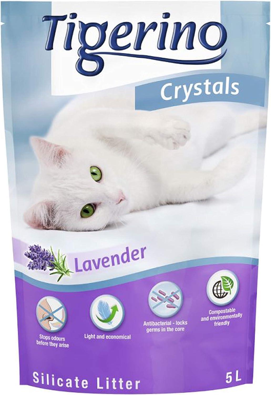 Tigerino Crystals - Arena para gatos (6 x 5 L)