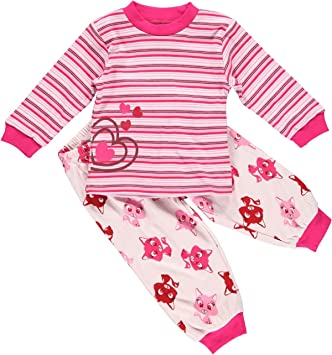 Fixoni 31706 pyjama bébé et fille 2 pièces 9ea875d650f