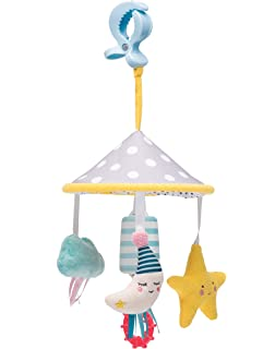 Amazon.com : Taf Toys Obi the Owl Take Along Chime Bells Mobile ...
