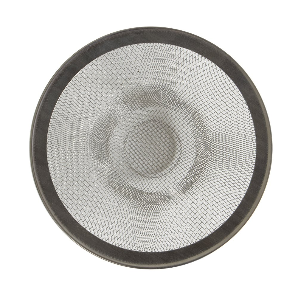 Mesh Sink Strainer, Prevents Sink Clogging From Food & Hair, Great for Stainless Steel Sinks, Set of 2