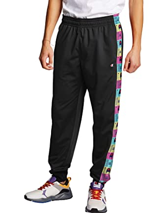 Champion Tricot Track Pants Black MD: Amazon.es: Ropa y accesorios