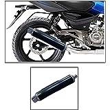 True Vision Pe-1 Bike Exhaust Can Black For Bajaj Pulsar 150 Dtsi Type-1 3