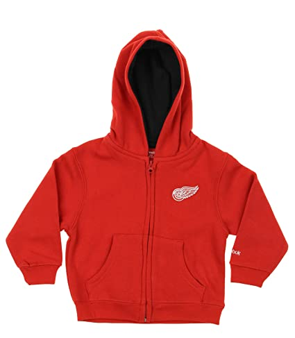 Image Unavailable. Image not available for. Color  Detroit Red Wings NHL  Little Boys Toddler Full Zip Fleece Hoodie ... af0c6c451