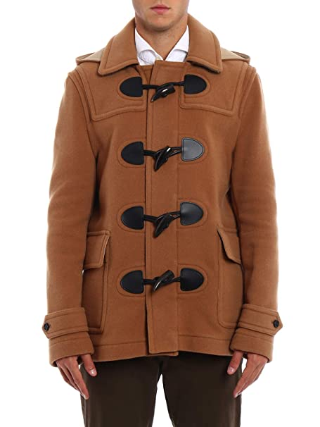 Lana it Burberry Amazon Marrone Trench Uomo 4059551 Abbigliamento zttBqfaxWw
