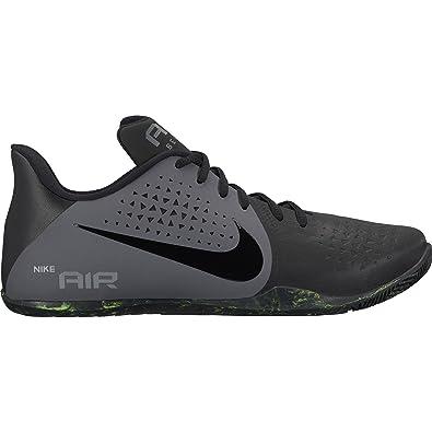 NIKE Mens Air Behold Low Basketball Shoe (7 D(M) US, Black