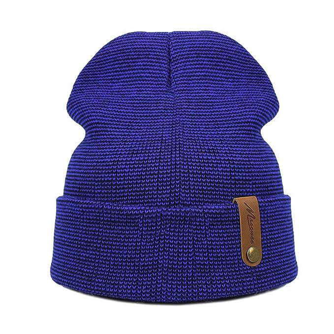 a5a9a0bb Amazon.com: Winter Beanies Hat Unisex Plain Warm Soft Beanie Skull ...