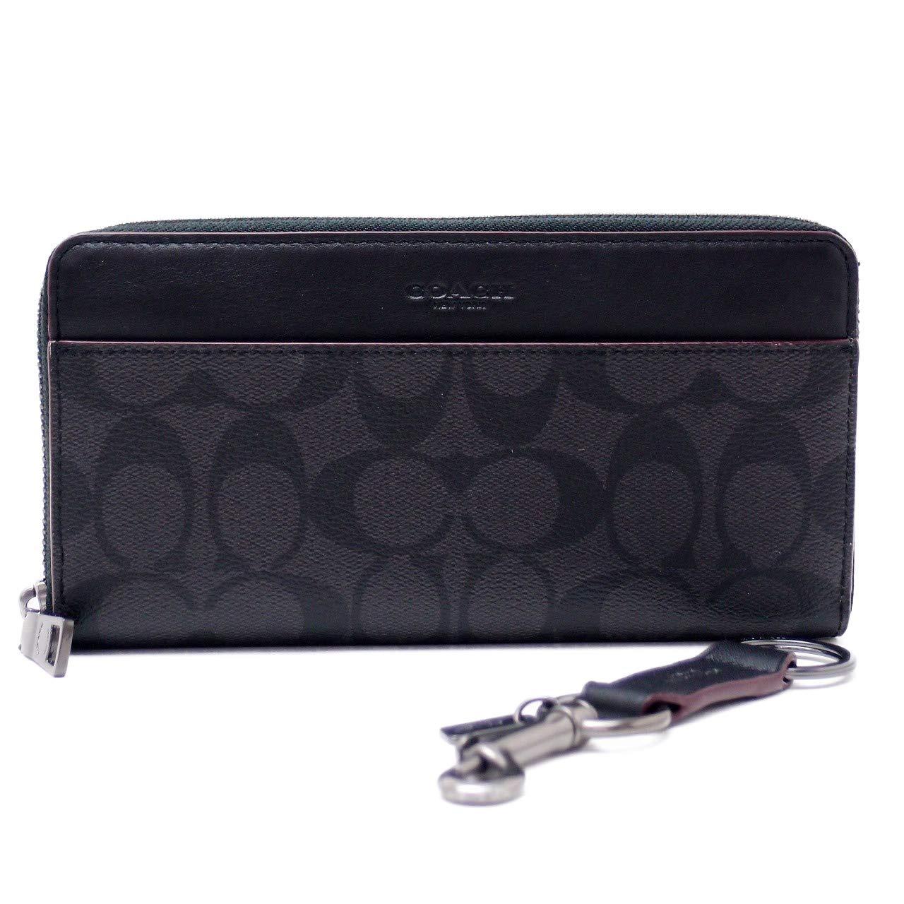 25ddd3f976ec Amazon | [コーチ] COACH 財布 メンズ 長財布 キーリング キーホルダー 2点セット ギフトセット 41345N3A  [アウトレット品] [並行輸入品] | COACH(コーチ) | 財布