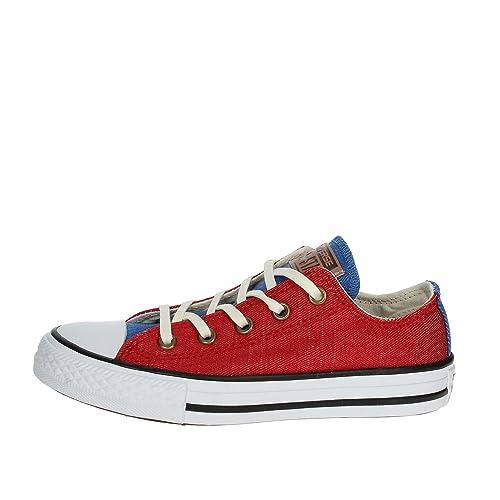 Converse Chuck Taylor CTAS Ox Cotton, Zapatillas de Deporte Unisex niños: Amazon.es: Zapatos y complementos