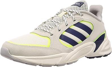 adidas Men Shoes Running Sport Inspired 90s Valasion Retro Street Sneaker EE9895 (46 EU - UK 11 - US 11.5)