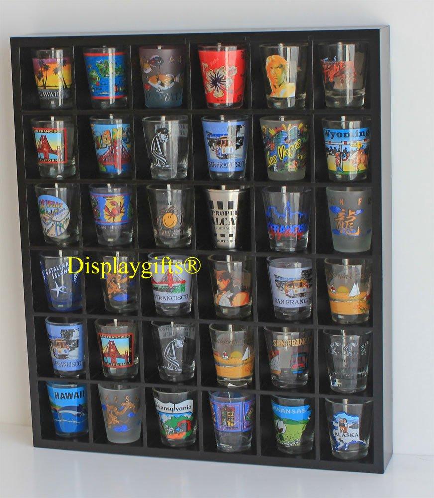 Shot Glass Display Shelf, NO DOOR