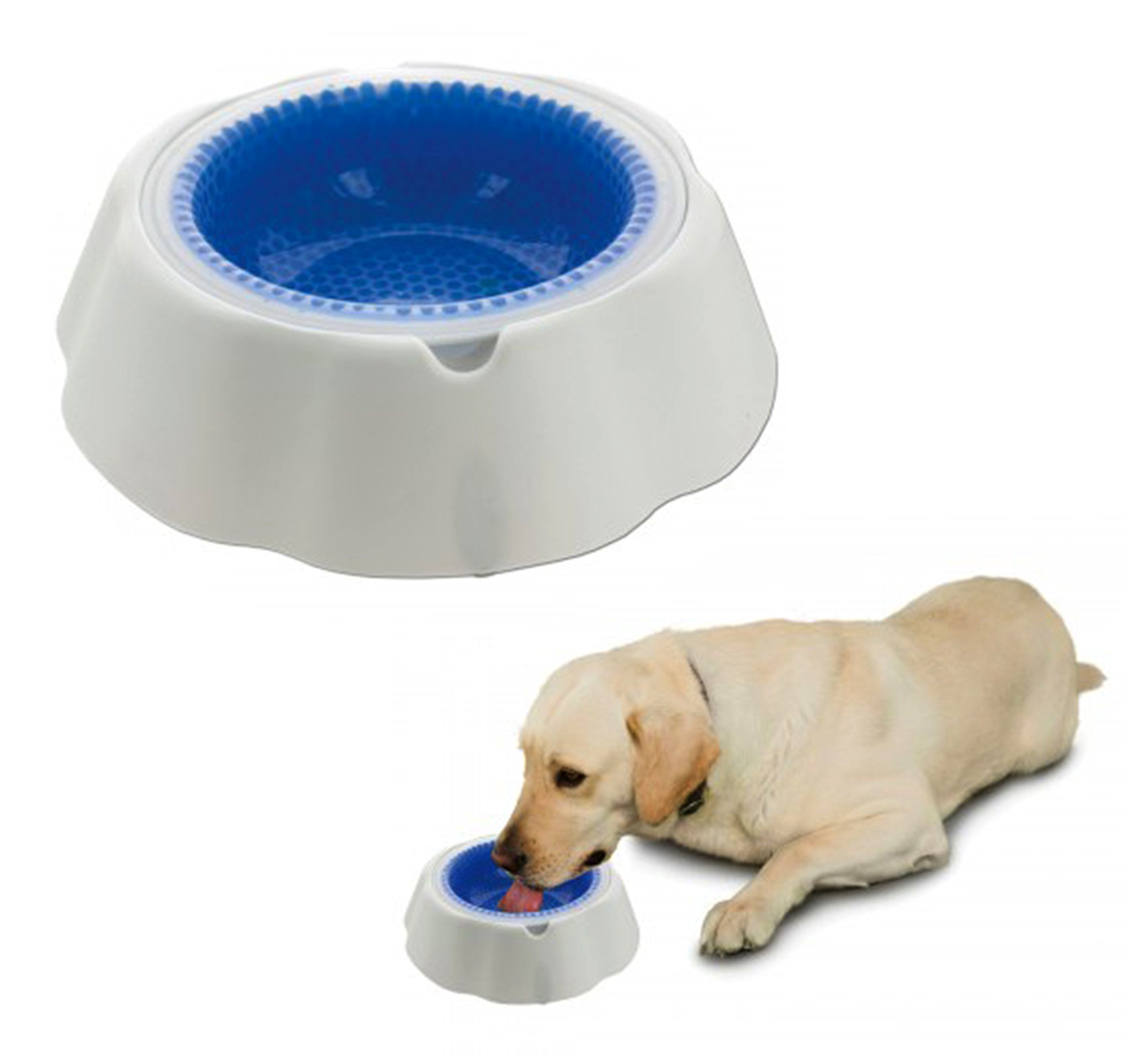 Duke's Pet Products Frosty Water Chilling Dog Bowl