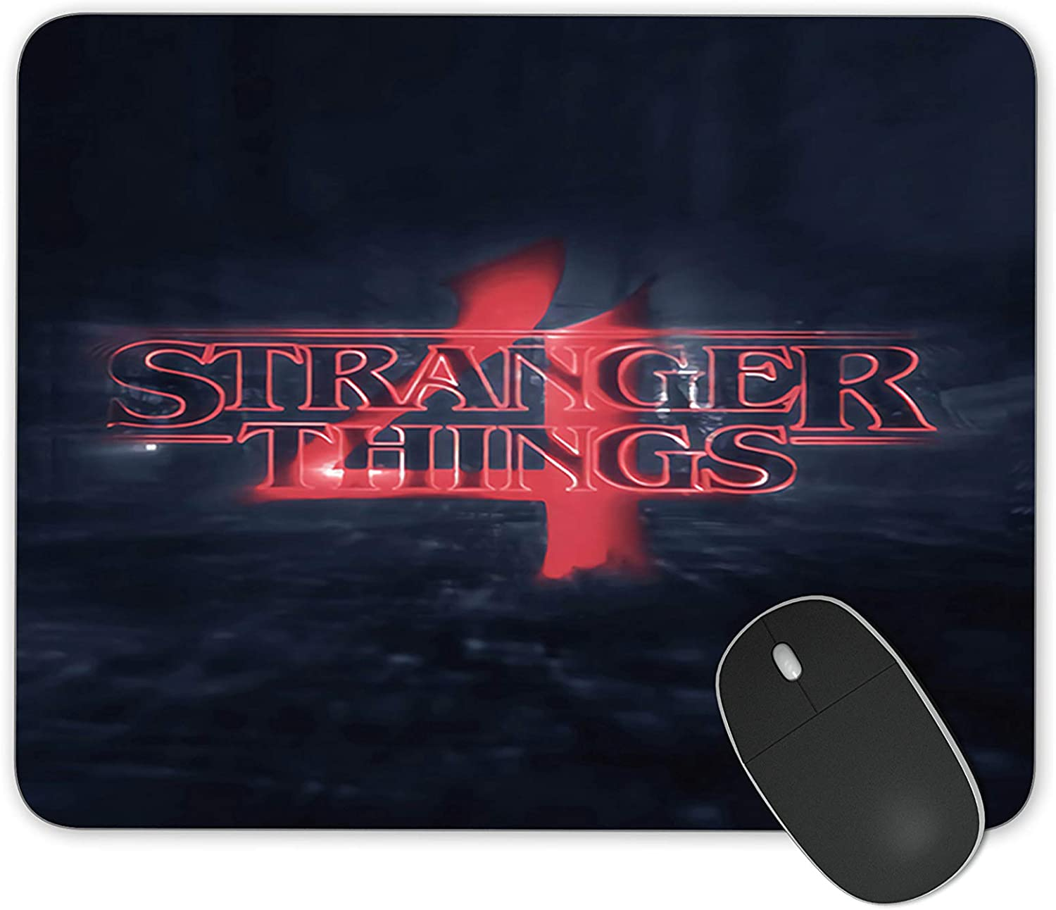 JNKPOAI Stranger Things Series Anti-Slip Mouse Pad Personalize The Office Mouse Pad The Game Must Choose Mouse Pad (Stranger Things#6)