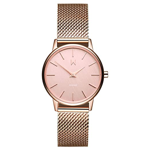 MVMT Avenue Watches | 28MM Women's Analog Minimalist Watch | Jane best minimalist watches for women