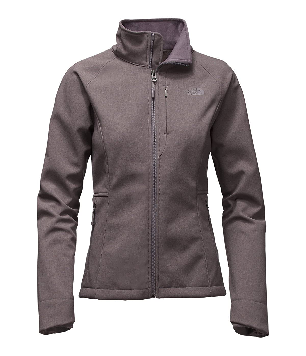 Rabbit Grey Heather The North Face Women's Apex Bionic 2 Soft Shell Jacket
