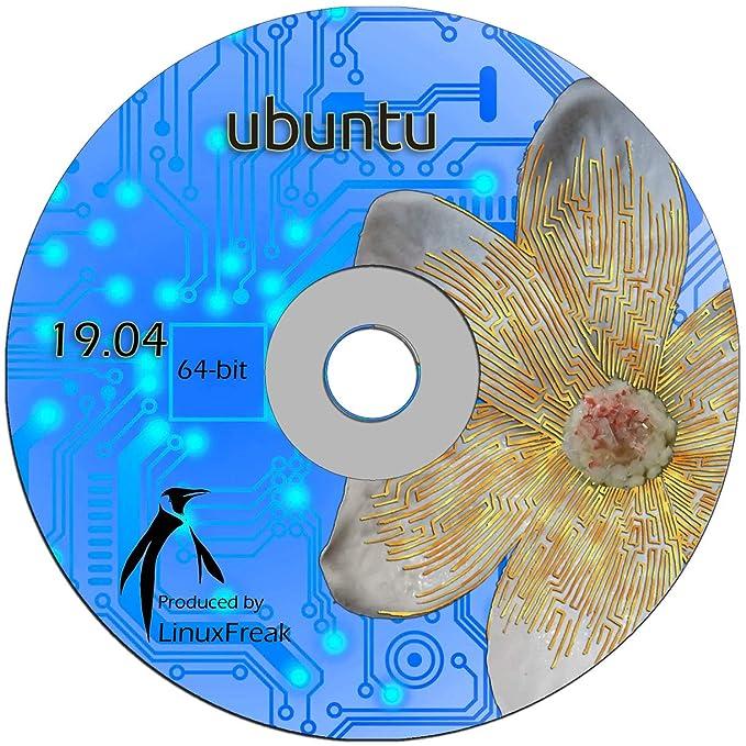 Amazon com: Ubuntu Linux 19 04 DVD - OFFICIAL 64-bit release