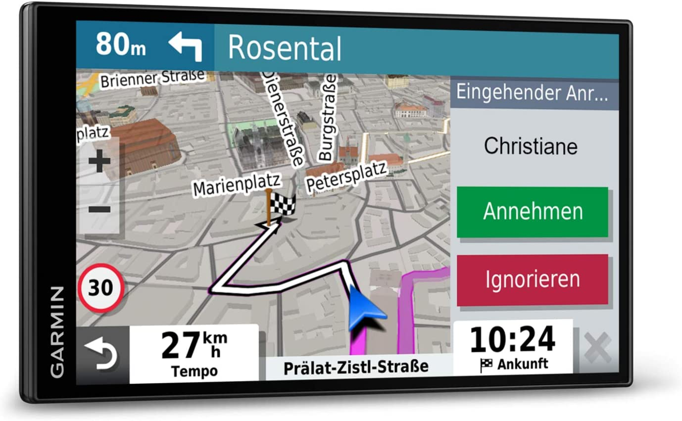 Garmin 010 02038 12 Drivesmart 65 Mt S Eu Navi Extragroßes Touch Display 3d Navigationskarten Und Live Traffic Via App Navigation