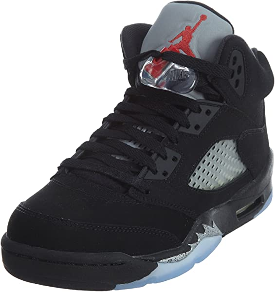 the best attitude 4f220 49e27 Nike Air Jordan 5 Retro OG BG, Espadrilles de Basket-Ball Homme - Noir
