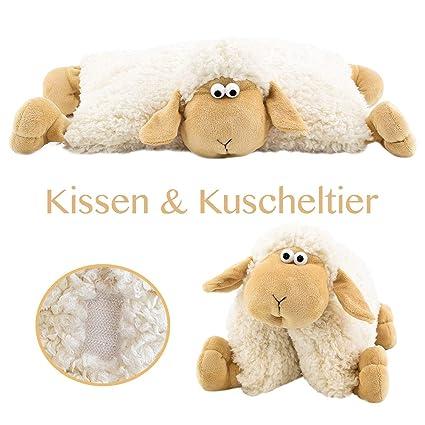 Art Decor 2 In 1 Kuschelkissen Und Kuscheltier Schaf Schafkissen