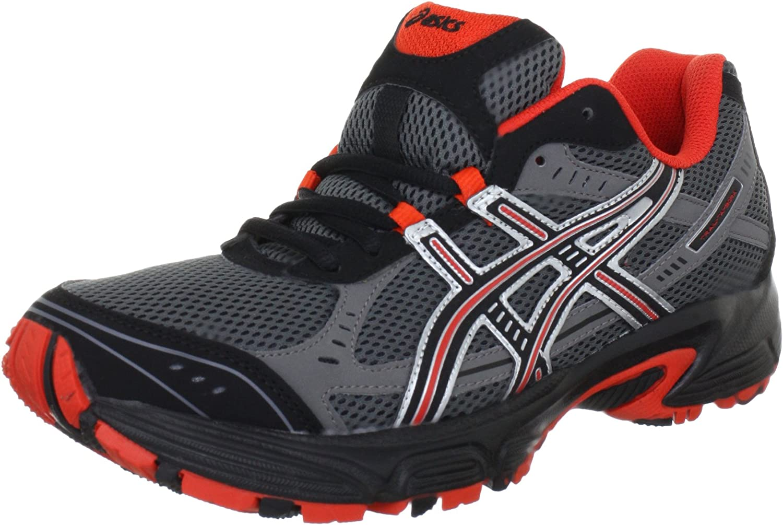 Amazon.com   ASICS TRAIL-TAMBORA 2 Running Shoes - 12.5 - Black ...