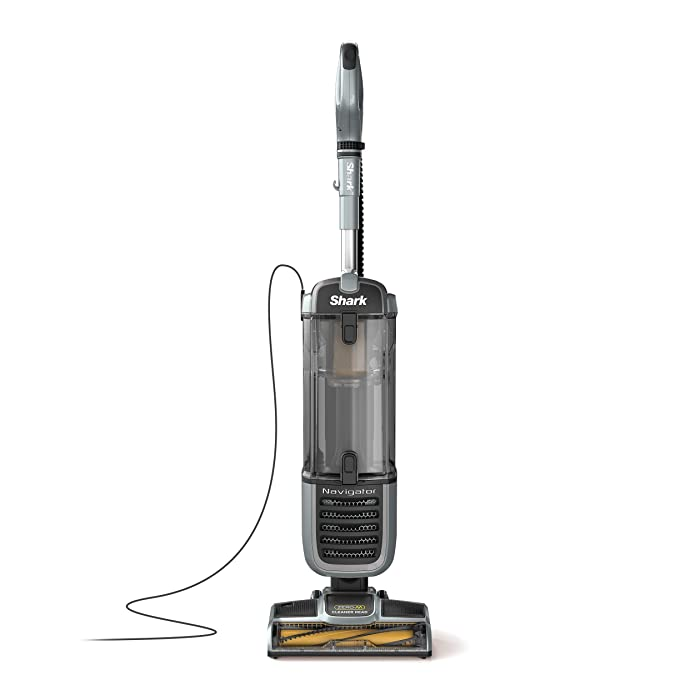Shark Navigator Zero-M Self-Cleaning Brushroll Pet Pro (ZU62) Upright Vacuum Pewter Grey Metallic