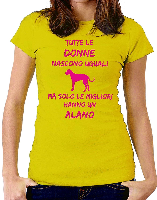Women Humor Fashion Tutte Le Taglie Dogs Tshirt Tutte Le Donne Nascono Uguali ma Solo Le Migliori Hanno Un Alano Donne
