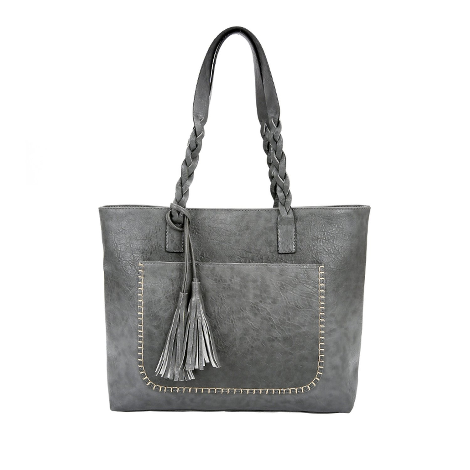 61098f5226 Amazon.com  Women Messenger Bags Large Capacity Women Bags Shoulder Bags  With Tassel Famous Designers Leather Handbags