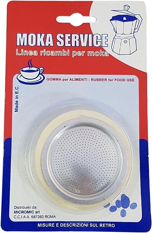 MOKASERVICE - Junta para cafetera de 6 Tazas para Bialetti: Amazon ...