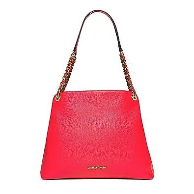 Image Unavailable. Image not available for. Color  Michael Michael kors Jet  Set Chain Large Shoulder Bag ... cea8d0f1ed44