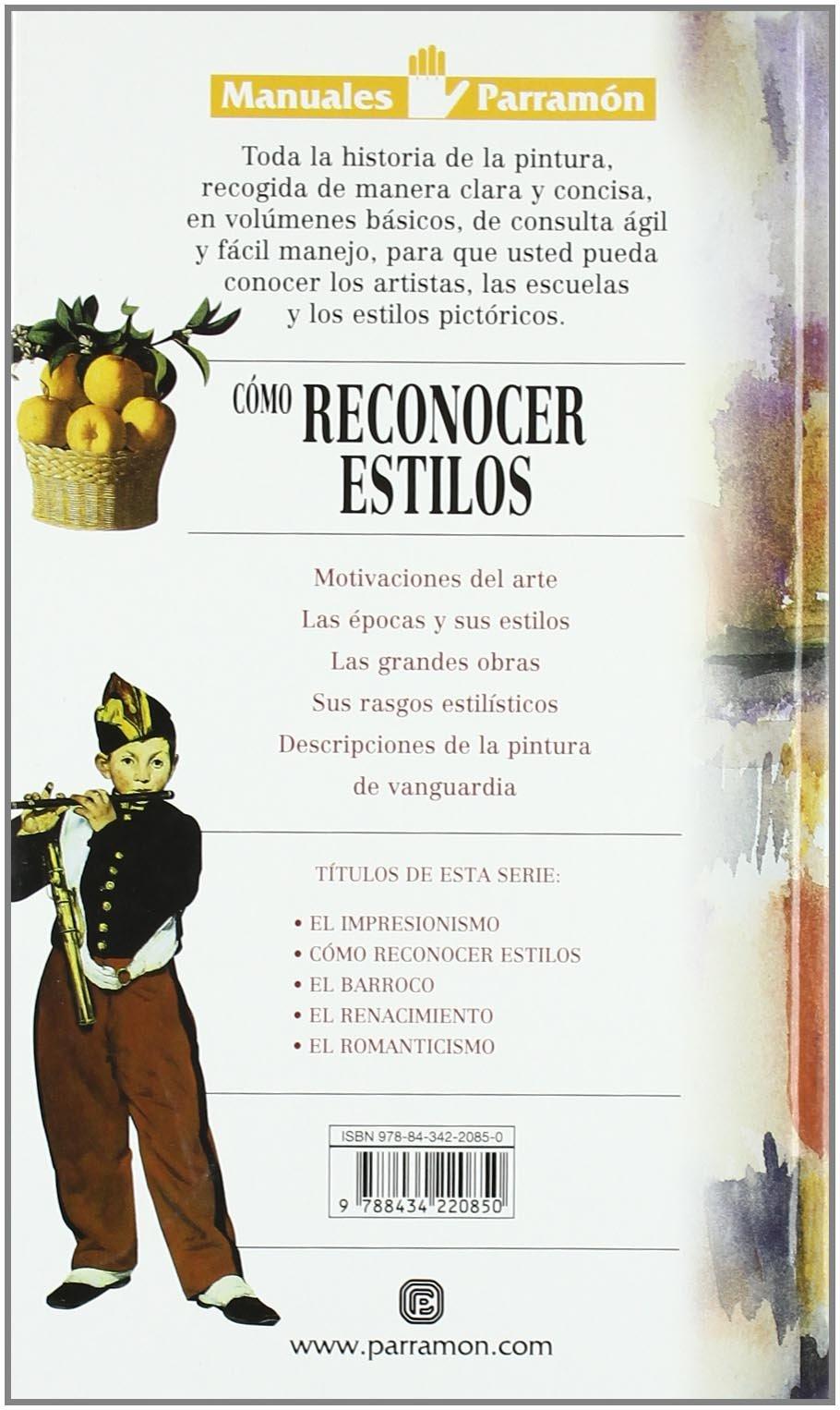 Como Conocer Estilos (Spanish Edition)