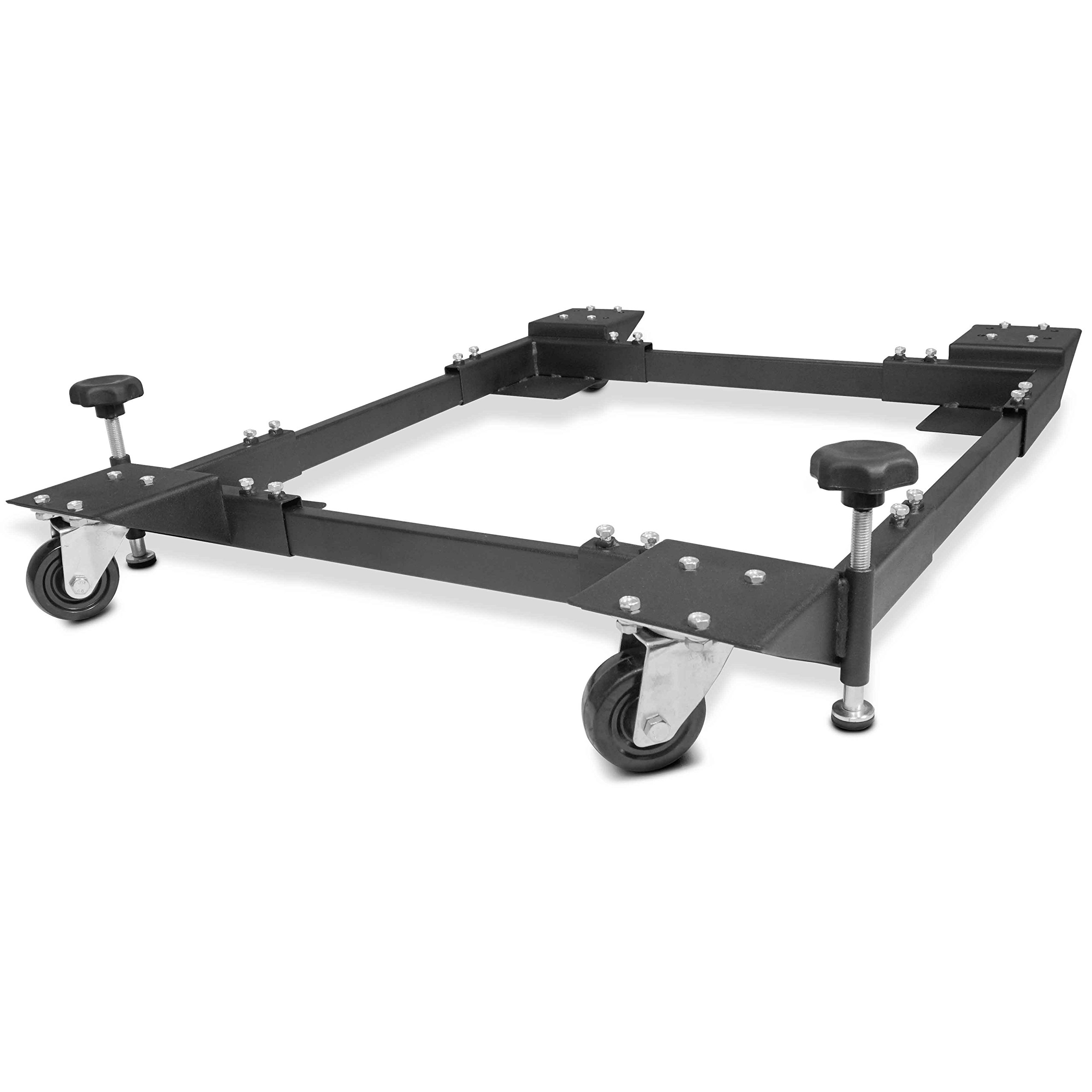 Titan Adjustable Mobile Base Dolly 600 lb Capacity HD Universal Power Tools - Make Your Workshop Portable & Easy To Use by Titan Attachments (Image #2)