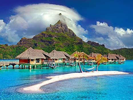 Lais Puzzle Isla Bora Bora 100 Piezas