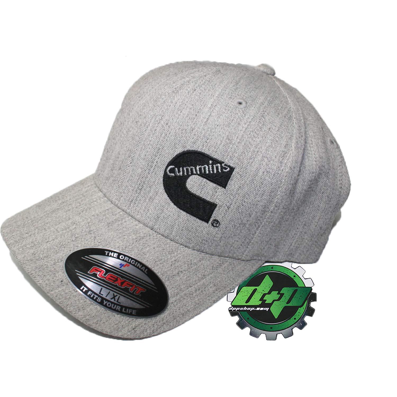 ce7a9e6ca Amazon.com: Dodge Cummins Diesel Flexfit hat Cap l/XL Gray Heather ...