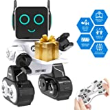 Remote Interactive Control Robots Toy,GMSUNNY Educational Stem Toys Robotics for Kids Sing,Dancing,Built-in Piggy Bank…