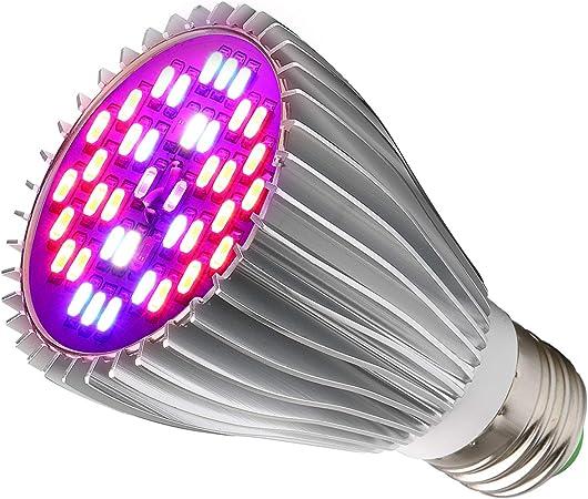 Amazon Com 30w Led Grow Light Bulb Led Plant Bulb Full Spectrum