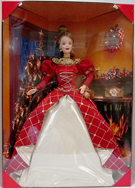 Amazon.com: Barbie 1999 Holiday Treasures Doll 1st in Series by
