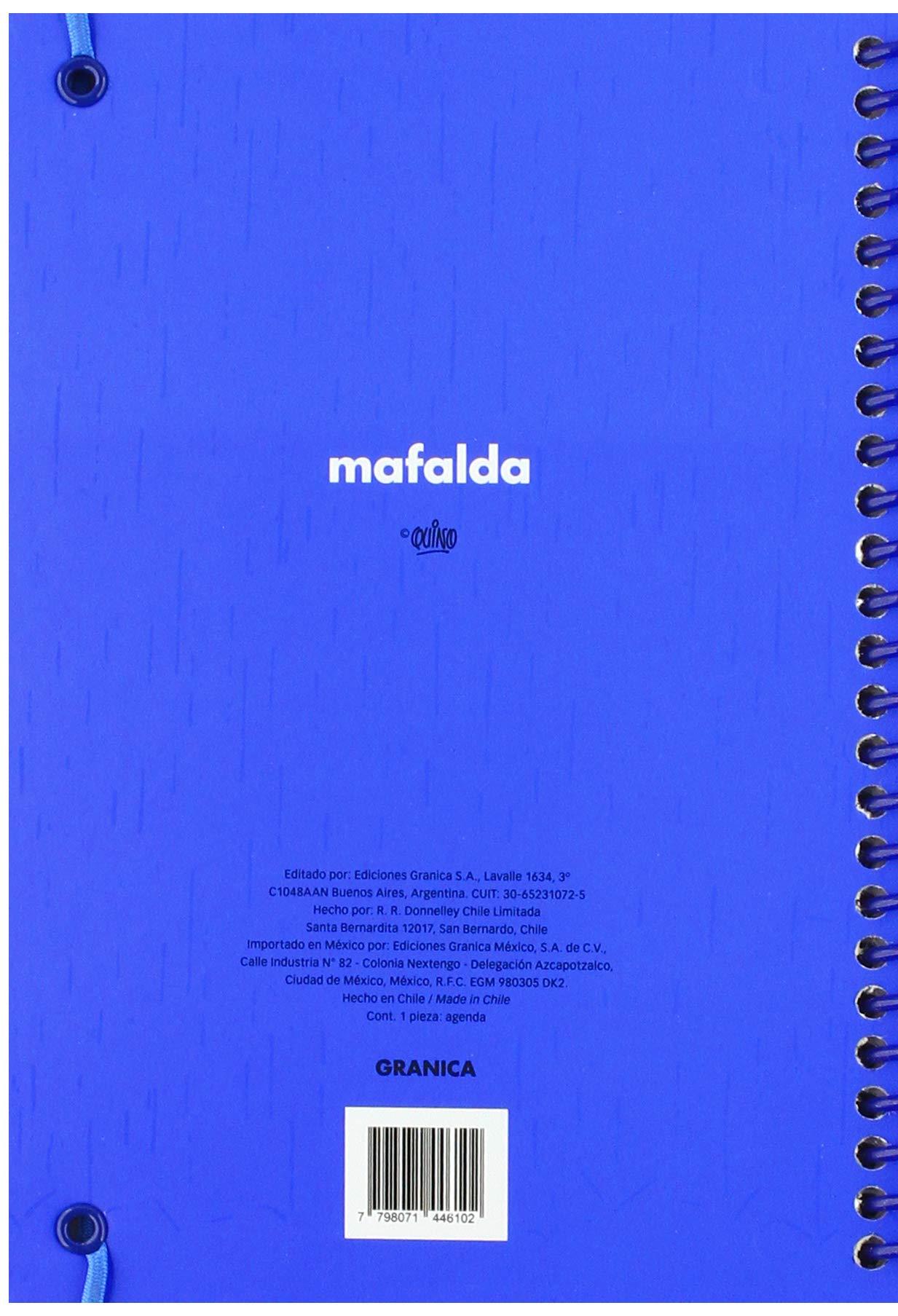 Granica GB00096 - Mafalda 2019 anillada: Amazon.es: Libros