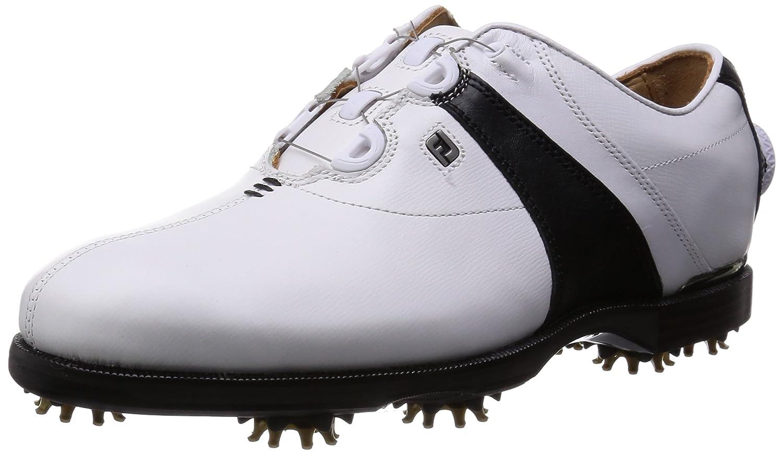 [フットジョイ] FootJoy ゴルフシューズ IconBlackBoa B00O4L5ERA 25 2E ホワイト/ブラック