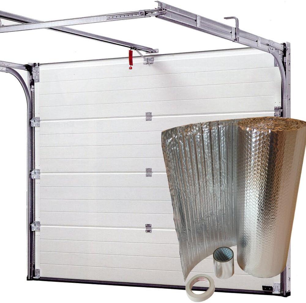 SuperFOIL – Aislamiento para puerta de garaje DIY Kit – Cubre 6sqm ...