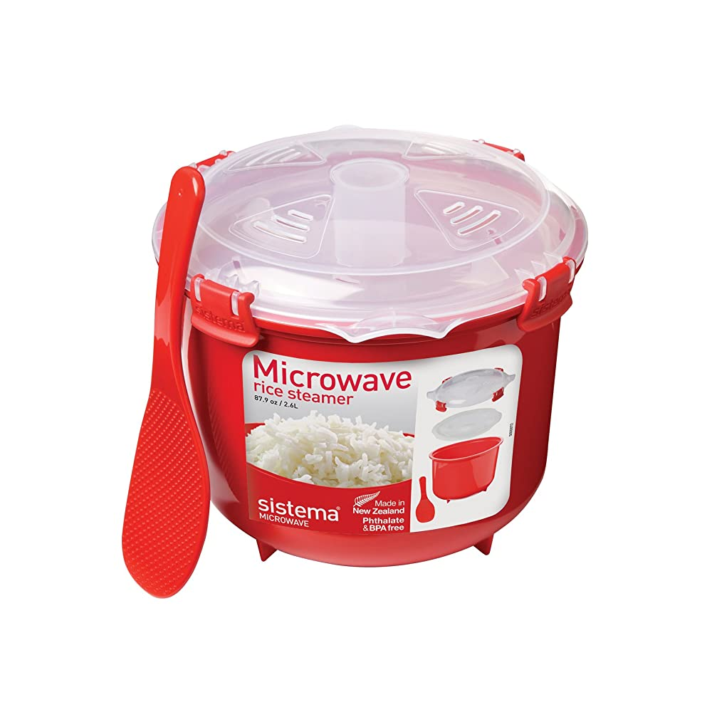 Sistema Microwave Cookware Rice Steamer Review