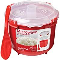 Sistema Microwave Cookware 10.9 Cup Rice Steamer (87.2 Ounce)