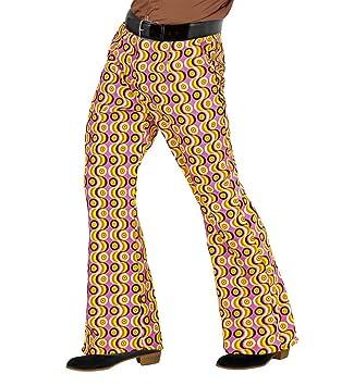 shoperama - Pantalón Retro para Hombre, años 70, con y sin patrón ...
