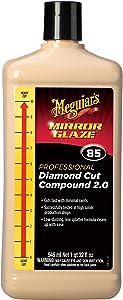 Meguiar's M8532 Mirror Glaze Diamond Cut Compound 2.0, 32 Fluid Ounces
